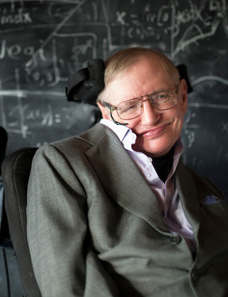An evening with Stephen Hawking